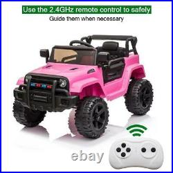 12V Electric Kids Ride On Truck Car Toy Battery 3 Speeds Safe Remote Control