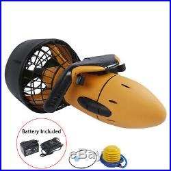 300W Electric 6km/h Diving Sea Scooter Swimming Boosters Battery Include