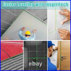 360 Laser Level Green Beam Self Leveling for wall flooring Ceiling Construction