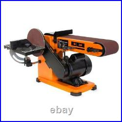 4 in. X 36 in. Belt and 6 in. Disc corded sander with steel base wen switch