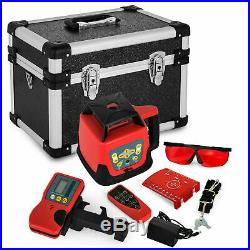 500m Self-Leveling Rotary Grade Laser Level Red/Green Tripod &16' Rod Optional