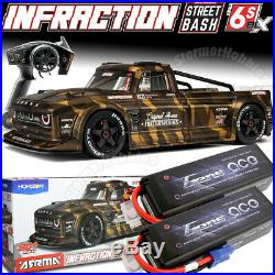 ARRMA Infraction 1/7 All-Road Street Bash 6S BLX RTR with Batteries Included