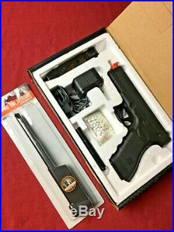 Airsoft Pistol AEP Includes 7.2V Battery, Charger, 100 Rnd Mag. And Original Box