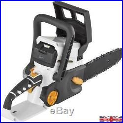 Alpina 25cm 24v Cordless Chainsaw Battery + Charger Included DIY Garden Tools
