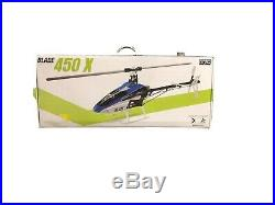 BLADE 450X BNF HELICOPTER MINT Includes 2 batteries With Charger. Plus Extra Parts