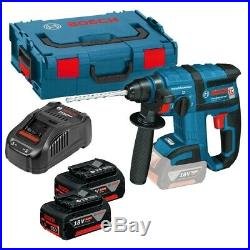 BOSCH GBH 18V-EC PRO BRUSHLESS SDS+ ROTARY HAMMER KIT INCLUDES 2x 5AH BATTERIES