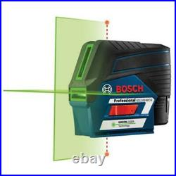 Bosch GCL100-80CG 12V Green Beam Connected Combination Laser Kit