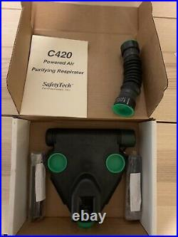 C420 Powered Air Purifying Respirator (batteries included)