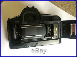 Canon EOS-1N 35mm SLR Film Camera Body, Excellent Cond, New Battery Included
