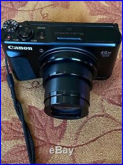 Canon PowerShot SX740 HS Digital Camera- Case, SD card, 2 batteries included