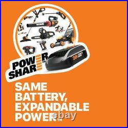 Cordless Chainsaw 20v Max Battery and Charger Included Auto-Tension, Auto Lube