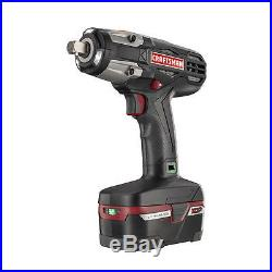 Craftsman C3 1/2 Heavy Duty Impact Wrench Kit 4Ah XCP Battery charger Included