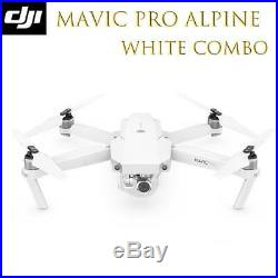 DJI Mavic Pro Alpine White Combo Includes 2 Extra Batteries Limited Edition NEW