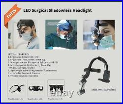 Dr. Kim LED Surgical Headlight Including Case + 2 Batteries + 1.5x Loupe