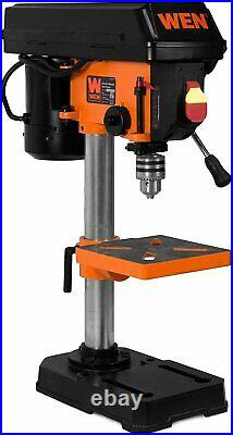 Drill Press Variable Speed 1/2 Chuck Bench Top Base Cast Iron Shop Tool NEW