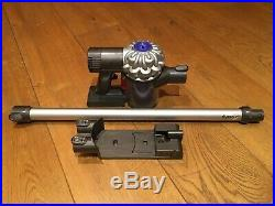 Dyson V6 wand, wall mount, charger and new battery included