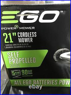 EGO 21 in. 56V Electric Walk Behind Push Mower, 5.0 Ah Battery & Charger Included