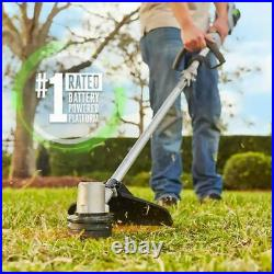 EGO POWER+ 56-Volt 15-in Straight Cordless String Trimmer (Battery Included)