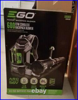 EGO POWER+Turbo Cordless Backpack Blower LB6003 New NO BATTERY INCLUDED