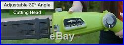 ELECTRIC POLE SAW Cordless 9'2 Chainsaw Battery and Charger Included