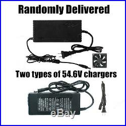 Ebike Battery Li-lion Lithium 48V 8Ah 500W Electric Scooter Power BMS Charger US