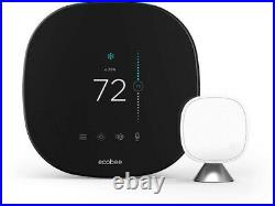 Ecobee Smart Thermostat with Voice Control, SmartSensor Included, Alexa Built-In