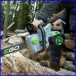 Ego 56v Cordless Cs1600e 16 Chainsaw (battery & Charger Are Not Included)