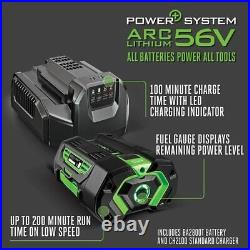 Ego-LB6504 Turbo Cordless Blower 3-speed Kit Charger and Battery Included (New)
