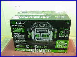 Ego PST3042 56V 3000W Nexus Portable Power Station 2 Batteries 7.5 AH Included