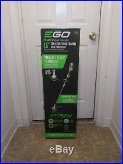 Ego ST1502SF 15 inch Electric Cordless String Trimmer /Extra Battery Included