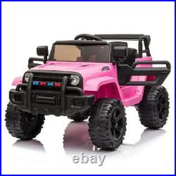 Electric 12V Kids Battery Ride On Car Toy Wheel Music with Remote Control PINK