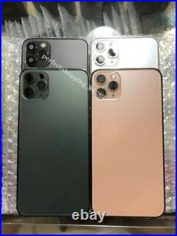 For iPhone X Replace To iPhone 12Pro Back Door Metal Glass Battery Housing Cover