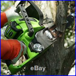 Greenworks 12-Inch 40V Cordless Chainsaw, Battery Not Included 20292
