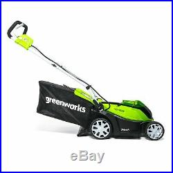 Greenworks 14 Inch 40V Cordless Lawn Mower Battery Not Included MO40B00