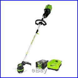 Greenworks PRO 16-Inch 80V Cordless String Trimmer, 2.0 AH Battery Included