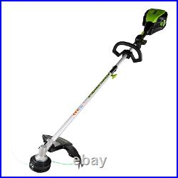 Greenworks PRO 16-Inch 80V Cordless String Trimmer Attachment Battery Not Includ