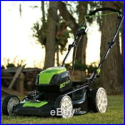 Greenworks PRO 21-Inch 80V Cordless Lawn Mower, Battery Not Included, Easy To Use