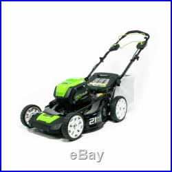 Greenworks PRO 21-Inch 80V Cordless Lawn Mower, Battery Not Included GLM80160