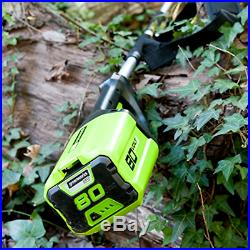 Greenworks PRO 80V 10â Brushless Cordless Polesaw, 2Ah Battery Included PS80L