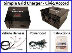 Grid Charger (Opt Discharge) Honda Insight Civic Hybrid Recondition IMA Battery