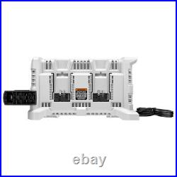 HART 20-Volt Lithium-Ion 4-Port Fast Charger (Batteries Not Included)