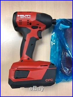 Hilti SID 4-A22 22V Cordless Impact Driver (CHARGER AND BATTERY INCLUDED!)