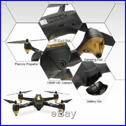 Hubsan H501S S Pro Brushless Drone 5.8G FPV RC Quadcopter 1080P GPS RTF+3Battery