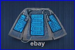 Ice Water Circulating Cooling Vest Gray Fanny Bag (USB Battery Not Included)