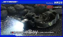 JETBeam HR25 Rechargeable LED Headlamp 800Lm XM-L2 -Includes 1x 18650 Battery