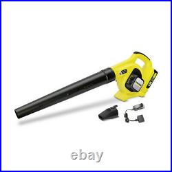 Karcher Battery operated Leaf Blower Battery and Charger included 1.445-111.0