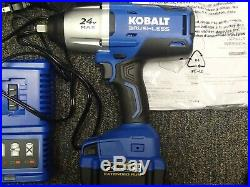Kobalt 24-Volt Max KIW5024B-03 1/2 Cordless Impact Battery & Charger Included
