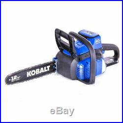 Kobalt 40-volt Lithium Ion 12-in Cordless Electric Chainsaw NO Battery Included