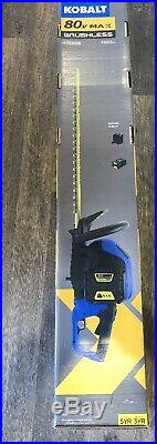 Kobalt 80-volt 26-in Dual Cordless Hedge Trimmer (Battery Included)