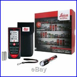 Leica Disto D510 Laser Distance Measurer Limited Anniversary Edition + Torch